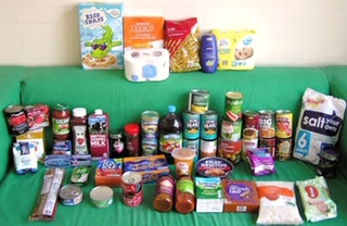 example food parcel